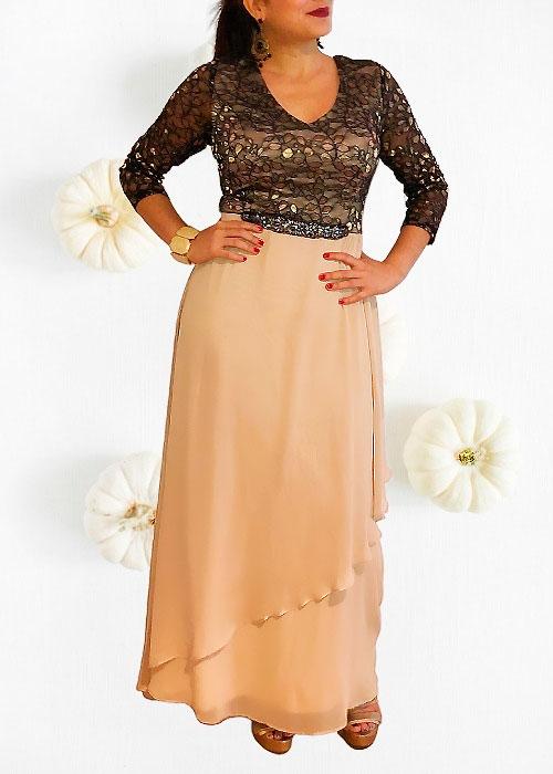 Vestido Gala Señora Elegante