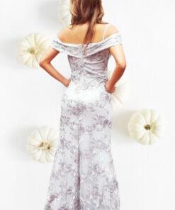 vestido_elegante_gala_gris_alquiler_vestido_bogota